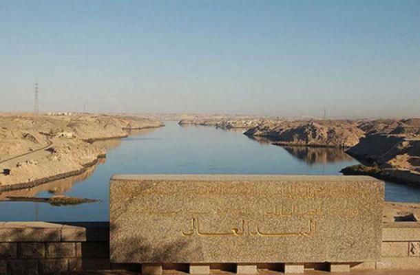 A view of Aswan High Dam.