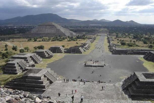 A view of Teotihuacan, Mexico. (CC BY-SA 2.0)