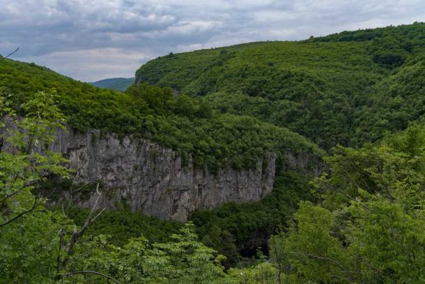 View of the canyons near the Dryanovo Monastery and Bacho Kiro caves. (smoke666/Adobe Stock)