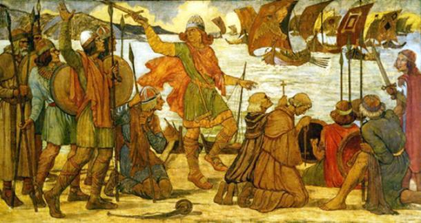 Viking migrants at Dublin. (Roxanna / Public Domain)