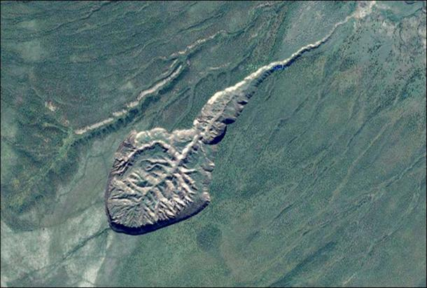The 'most important' sites in the world for the study of permafrost is located near the village of Batagai, in Verkhoyansk district, some 676 kilometres (420 miles) north of Yakutsk, capital of the Sakha Republic.