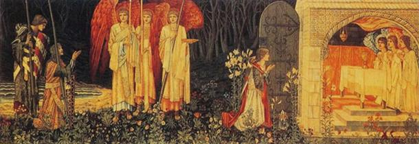 William Morris's vision of the Holy Grail.