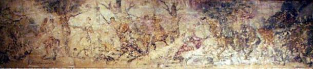 Wall painting in the royal tomb at Vergina, Macedonia ( CC BY-SA 2.0)