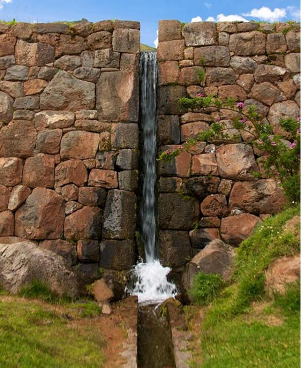 Today, many of the water channels at Tipón are still functional