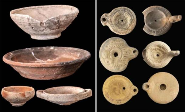 A wealth of pottery artifacts has been unearthed at the site. (Egyptian Ministry of Tourism and Antiquities)