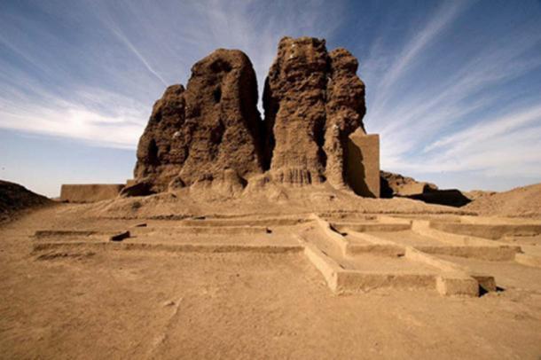The western deffufa in Kerma.
