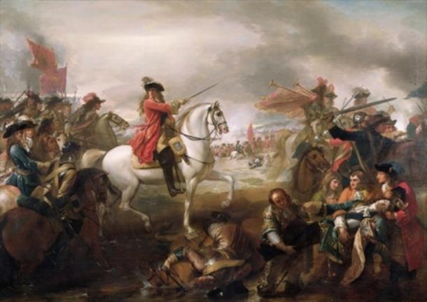 William III at the Battle of the Boyne. (Hohum / Public Domain)