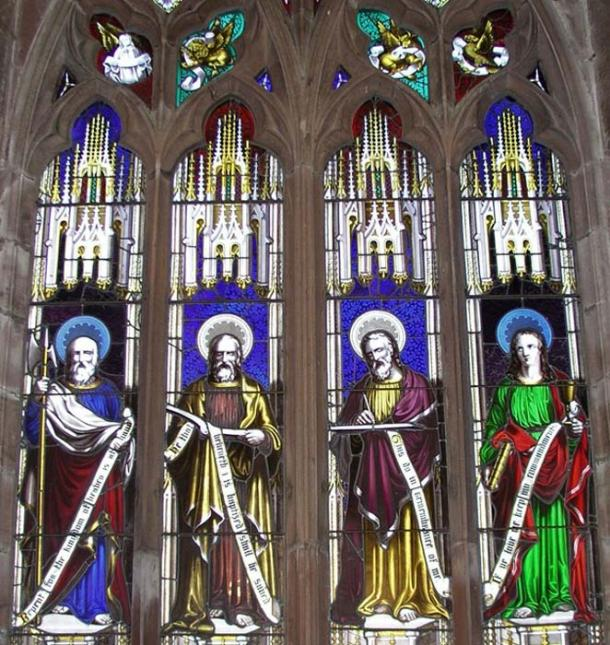 Wright's window at Hodnet Church.