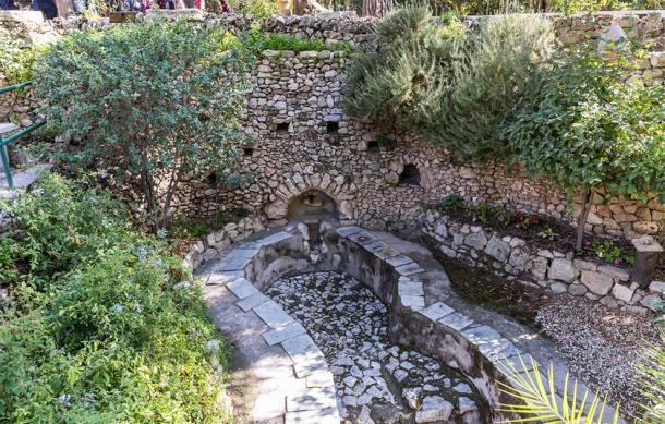 The Roman winepress in the Garden Tomb Jerusalem, Israel (svarshik / Adobe Stock)