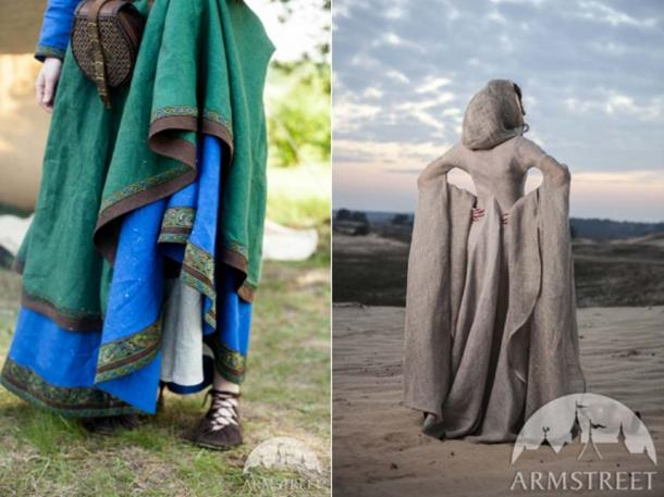 The wonderful drape of linen on two dresses from ArmStreet.com
