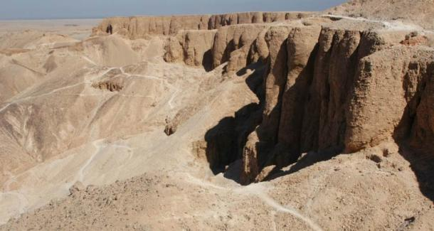 The workers of Deir el-Medina worked in the world famous 'Valley of the Kings'