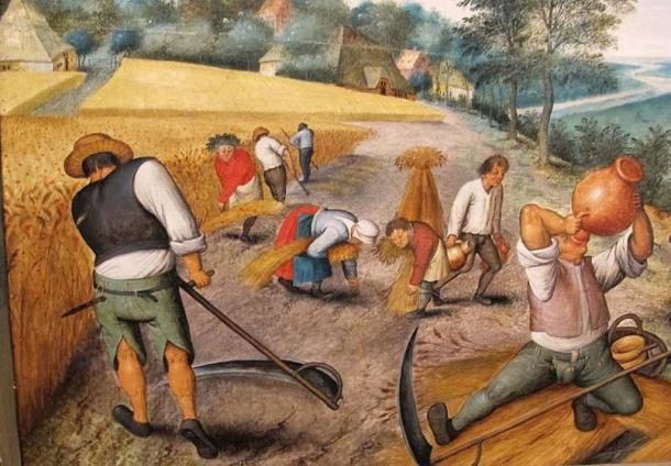 Pieter bruegel il giovane, 'Estate.' (Sailko/CC BY SA 3.0) Couples were pressured to reconcile as soon as possible, so that they could get out of the prison and back to work.