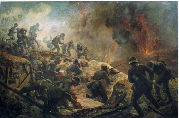World War I Painting