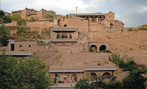 Most local people in Qikou live in yaodong, or cave houses, one of the most dominant features of the Loess Plateau along the Yellow River.
