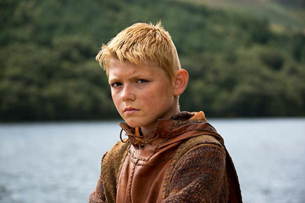 History's 'Vikings' version of a young Bjorn Ironside. (CC BY SA)