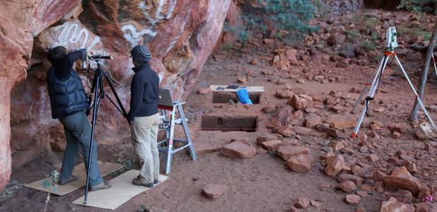 Evidence of early occupation of Aboriginal Australians was found at Karnatukul during excavation in 2014.