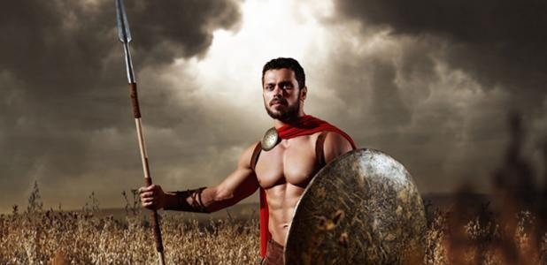 Ancient Greek murder victim was a muscular warrior.