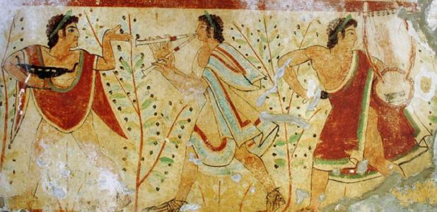 Etruscans Togas.
