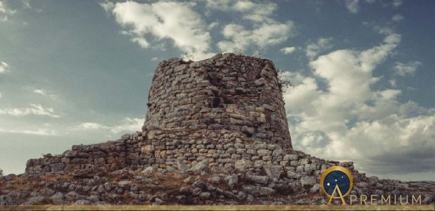 Nuraghe Is Paras - Isili - an archeological site of Isili, a town in the historical region of Sarcidano, province of South Sardinia built in the 15-14th century (Andrea / Adobe Stock)