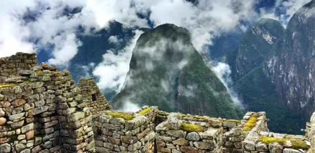 View at Machu Picchu, probably the most famous Inca settlement recorded by the big data archaeology model.          Source: fife76 / Public Domain