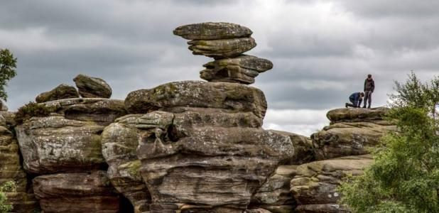 The Brimham Rocks
