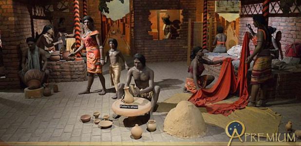 Indus Valley Diorama by Biswarup Ganguly