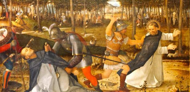 Representation of the Albigensian Crusades against the Cathars. Source: Yelkrokoyade / Public Domain.