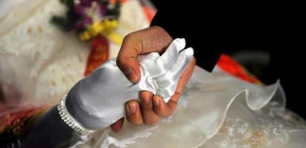 A man marrying a deceased woman in China