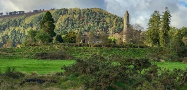The stunning landscape of historic Glendalough.