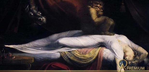 'The Nightmare' (1781) by Johann Heinrich Füssli.