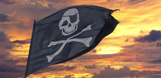 Pirate flag.