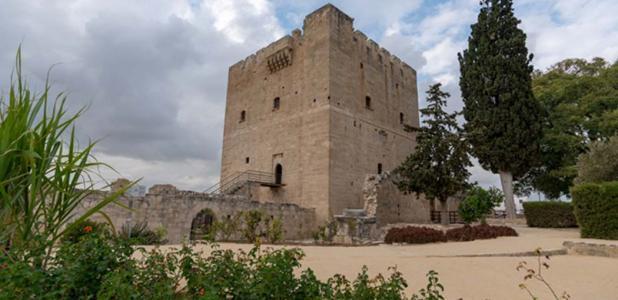 The keep of Kolossi Castle.
