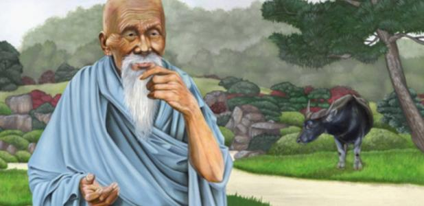 An Illustration of Lao-Tzu.