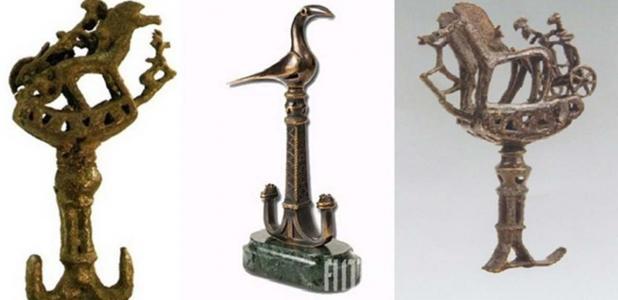 Bronze figurines found at Lchashen