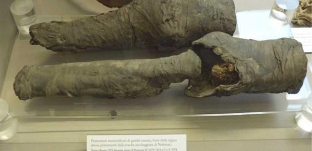 Owner of Mummified Legs Likely to Be Nefertari, Favorite Queen of Ramses II