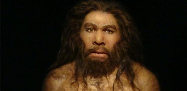 A Neanderthal.
