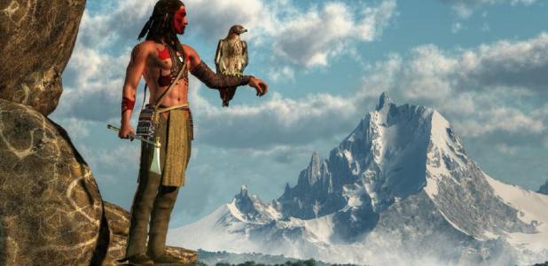 Native American hunter. Credit: Daniel / Adobe Stock