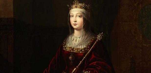 Posthumous portrait of Queen Isabella I of Castile.