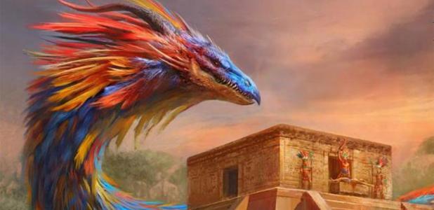 Quetzalcoatl, detail. Source: Manzanedo/Deviant Art