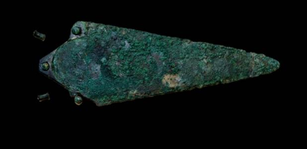 The Racton Dagger, the earliest dated bronze object ever found in Britain