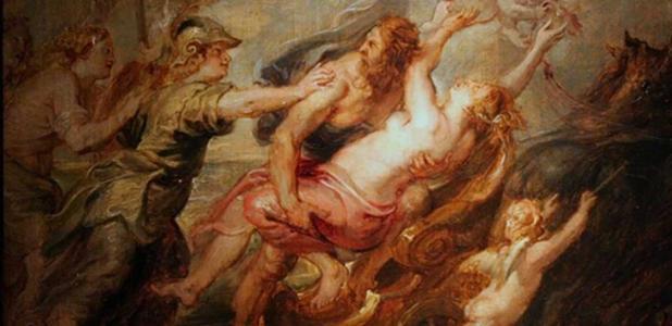 'L'enlèvement de Proserpine' (The Rape of Proserpine) (circa 1636) by Peter Paul Rubens.