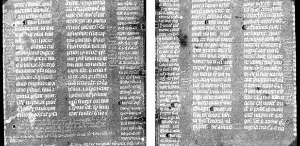 The Cornell High Energy Synchrotron Source (CHESS) provided an incredibly clear view of the medieval text.