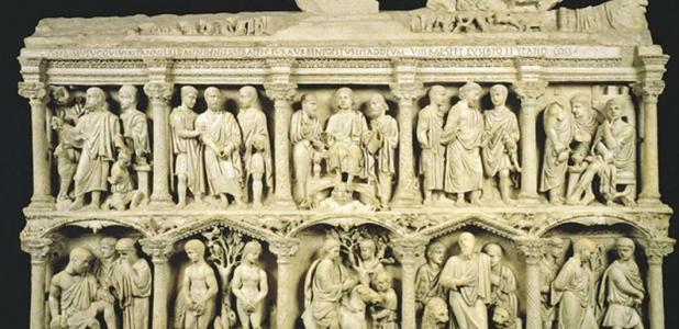 The sarcophagus of Junius Bassus.