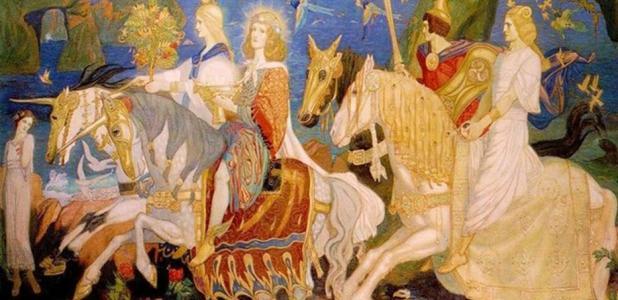 Tuatha Dé Dannan, the Enchanting Predecessors of Irish Fairies and Elves