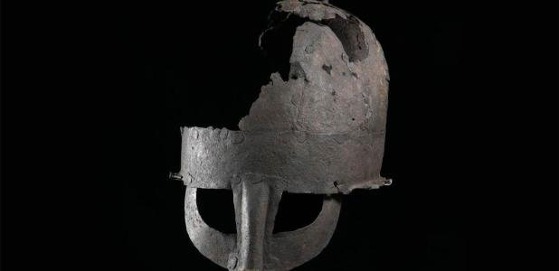 Researchers have re-evaluated a helmet discovered in the 1950s in Yarm, Stockton-on-Tees. Known as the Yarm helmet, this is the first Anglo-Scandinavian helmet to have been discovered in Britain and is the second nearly complete Viking-era helmet discovered in the world to date. Source: Durham University.