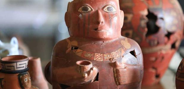 Ceramics give evidence of Peru's first empires               Source: Andina / Juan Carlos Guzmán Fair Use