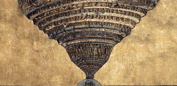 The Abyss of Hell, Sandro Botticelli, 1480s