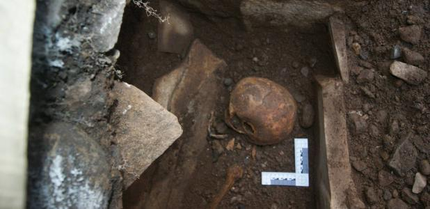 Rare medieval skeletal remains excavated in Wales