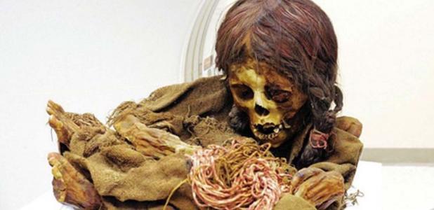 The mummy Ñusta. Credit: Michigan State University