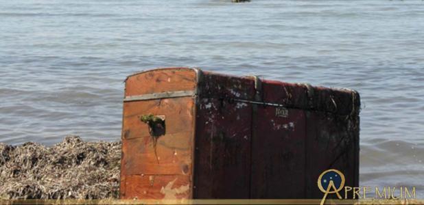In the estuary of Achelous Rive Treasure chest
